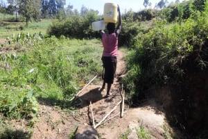 The Water Project: Elande Village, Elande Spring -