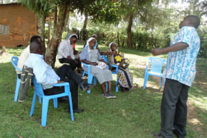 The Water Project: Ilala Community, Felix Kisengo Spring -