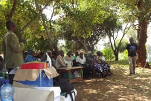 The Water Project: Karuli Community -