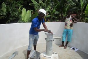 The Water Project: #40 Main Motor Road New Well Project -