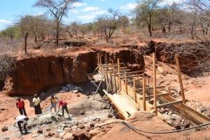 The Water Project: Kwa Mutunga Sand Dam Project -