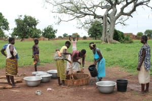 The Water Project: Dano Kobar Center Community -