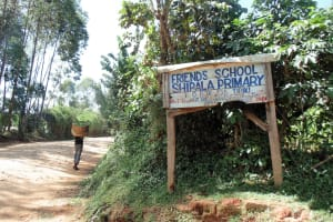 The Water Project: Shipala Primary School -  School Entrance