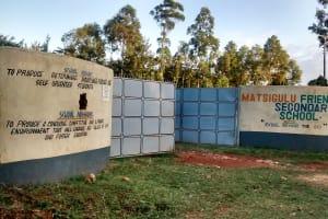 The Water Project: Matsigulu Friends Secondary School -  School Entrance