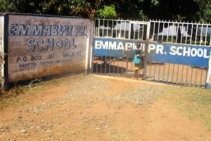 The Water Project: Emmabwi Primary School -  Entrance