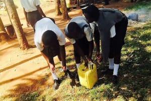 The Water Project: Matsigulu Friends Secondary School -  Hand Washing