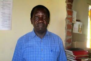 The Water Project: Bumuyange Secondary School -  Principal Enos Kagali