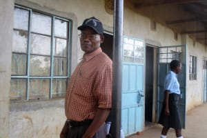 The Water Project: Bumuyange Secondary School -  Mr Shunza