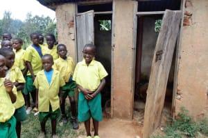 The Water Project: Mahanga Primary School -  Boys Latrines