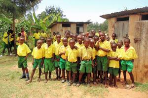 The Water Project: Mahanga Primary School -  Boys Lines