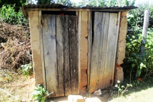The Water Project: Bumuyange Secondary School -  Shared Latrines