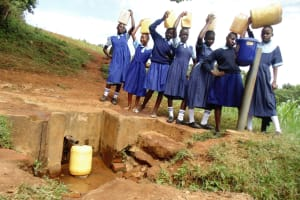 The Water Project: Shipala Primary School -  At The Spring