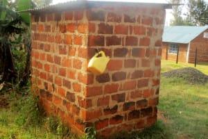 The Water Project: Bumuyange Secondary School -  Teachers Latrine