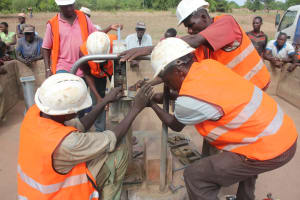The Water Project: Fouzan Banere Community -