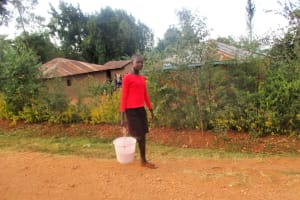 The Water Project: Bumuyange Secondary School -  Rispa Takes Maize To Grind After School