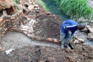 The Water Project: Musiero Community, Litali Spring -