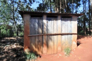 The Water Project: Shipala Primary School -  Full Latrines