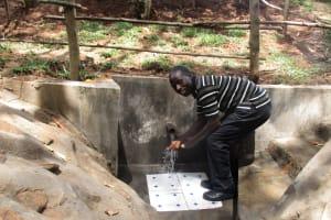 The Water Project: Garagoli-Galilaya Community, Hanington Mulanda Spring -