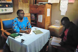 The Water Project: Shipala Primary School -  Meeting With Headteacher