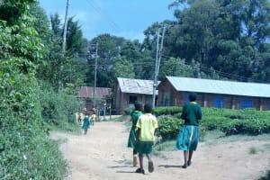 The Water Project: Mahanga Primary School -  Walking To School