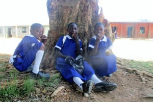 The Water Project: Emmabwi Primary School -  Eating Mandazi On Break