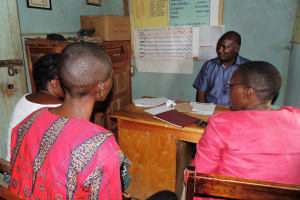 The Water Project: Mahanga Primary School -  Meeting The Headteacher