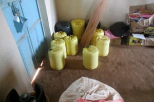 The Water Project: Bumuyange Secondary School -  Water Containers