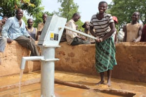 The Water Project: Gueguere Komon Community -