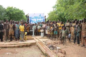 The Water Project: Dano Kobar Community -