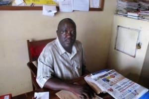The Water Project: Ebukanga Secondary School -  Principal Jeremiah Andayi