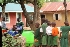 The Water Project: Emurembe Primary School -  Lined For Assignment Grading