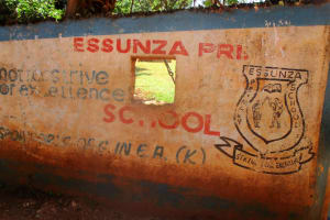 The Water Project: Essunza Primary School -  School Entrance