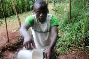 The Water Project: Emabungo Community, Bondeni Spring -  Alfred Anuko