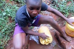 The Water Project: Kidinye Community, Wamwaka Spring -  Brian Sagwa