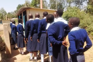 The Water Project: Rosterman Secondary School -  Girls Latrines