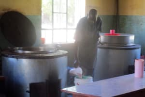 The Water Project: Ikonyero Secondary School -  Kitchen