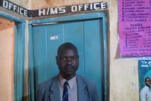 The Water Project: Emurembe Primary School -  Deputy Headteacher Jeremiah Masalia