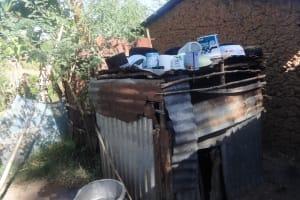 The Water Project: Shitungu Community, Suleiman Spring -  Animal House Dish Rack