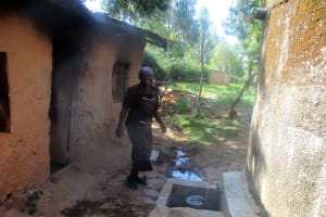 The Water Project: Friends Makuchi Secondary School -  Getting Water For Cooking