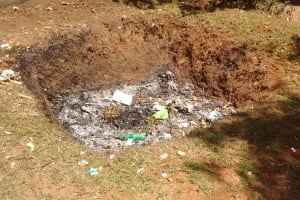 The Water Project: Rosterman Secondary School -  Trash Pit