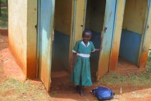 The Water Project: Ebukanga Primary School -  Latrines