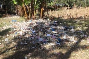 The Water Project: Malaha Primary School -  School Garbage