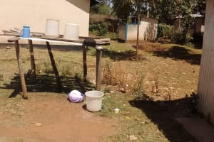 The Water Project: Rosterman Secondary School -  Dish Rack
