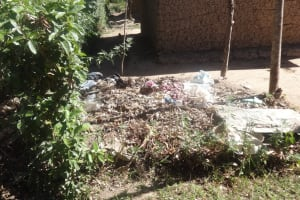 The Water Project: Shitungu Community, Suleiman Spring -  Trash Pile