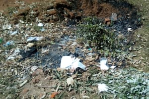 The Water Project: Bumira Secondary School -  Garbage Pit
