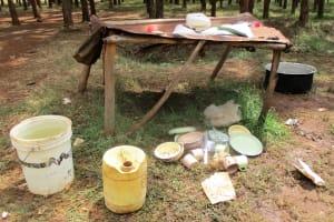 The Water Project: Ebukanga Primary School -  School Kitchen Area