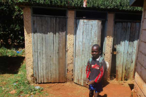 The Water Project: Essunza Primary School -  Latrines