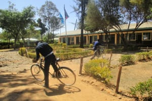 The Water Project: Ikonyero Secondary School -  More Students Arriving