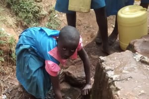 The Water Project: Virembe Primary School -  Fetching Water