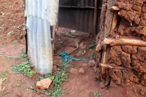 The Water Project: Kidinye Community, Wamwaka Spring -  Bathing Room
